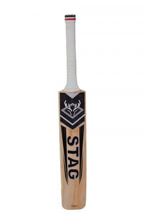 Roe Stag English willow cricket bat with short handle
