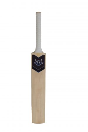 Blue Stag English Willow Junior Cricket Bat Front view