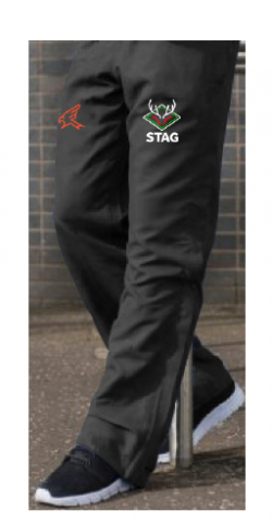 Cricket Tracksuit bottoms with black stag cricket logo