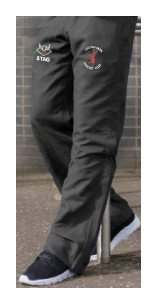 Linton Park Cricket Club embroidered logo Tracksuit Bottoms